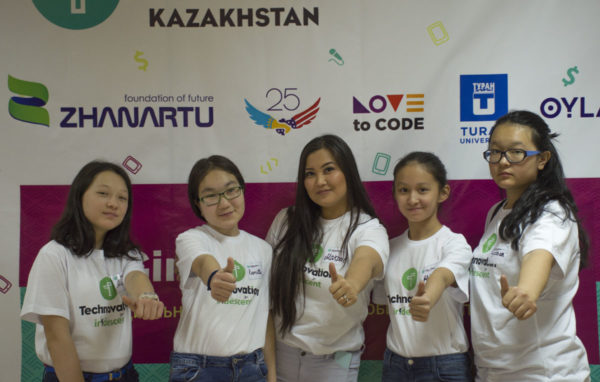 Technovation challenge: Participants in Almaty