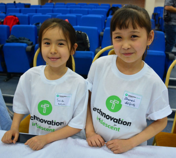 Technovation challenge: Participants in Astana